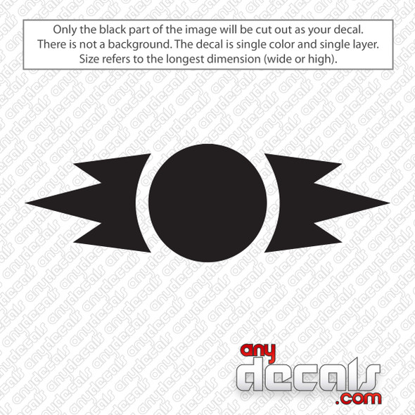 Star Wars Ancient Sith Symbol Decal Sticker