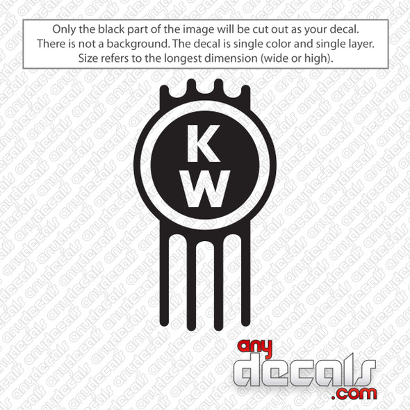 Kenworth Emblem Decal Sticker
