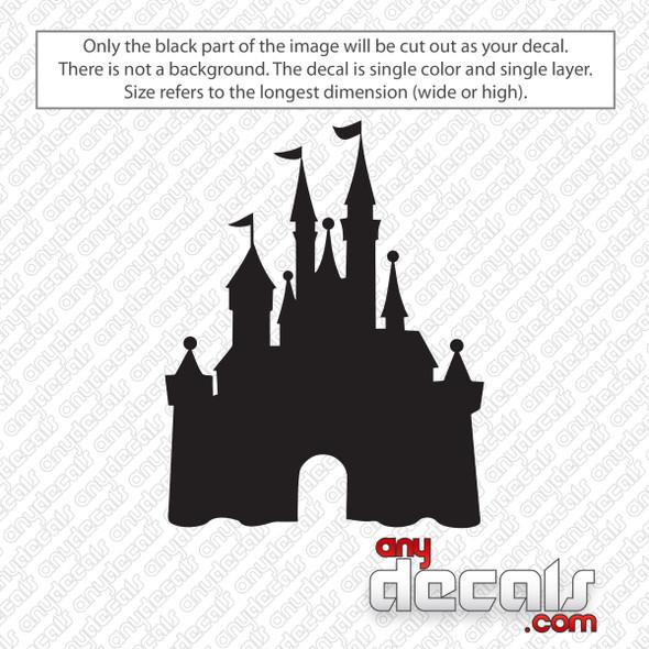 Disney Castle Decal Sticker