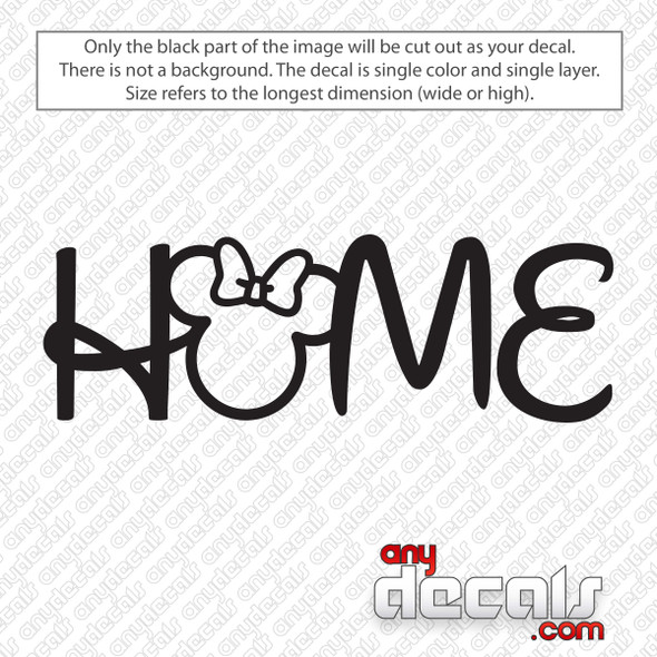Disney Home Minnie Ears Decal Sticker