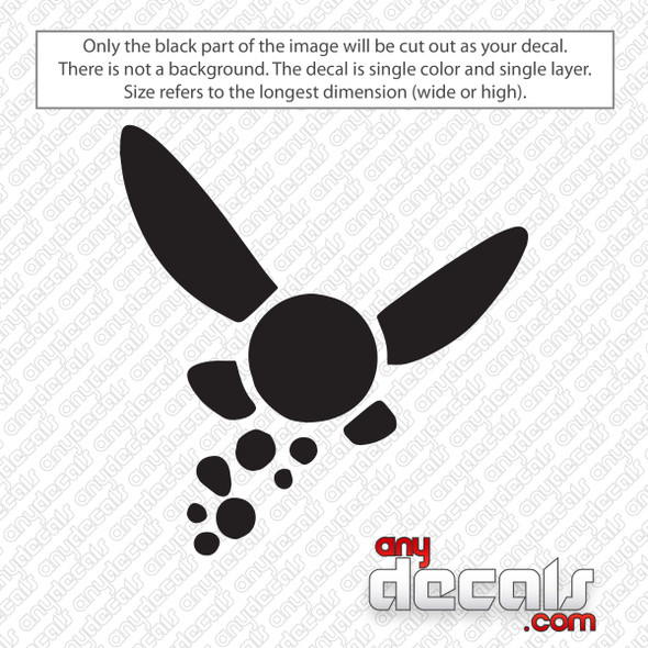 Zelda Navi Fairy Decal Sticker