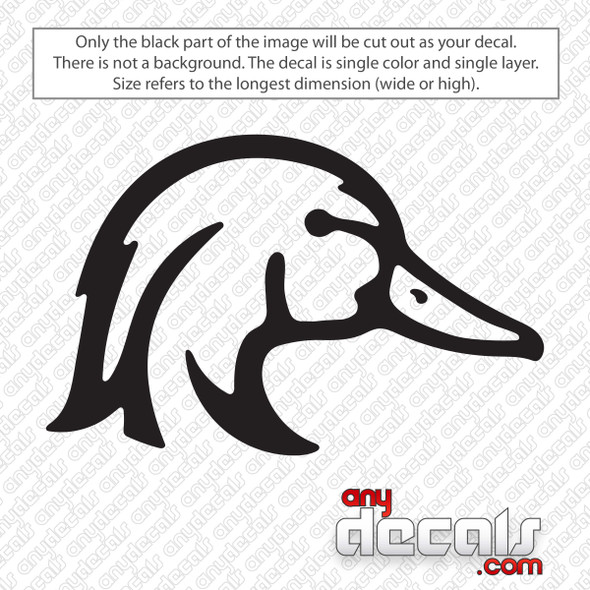 Wood Duck Decal Sticker