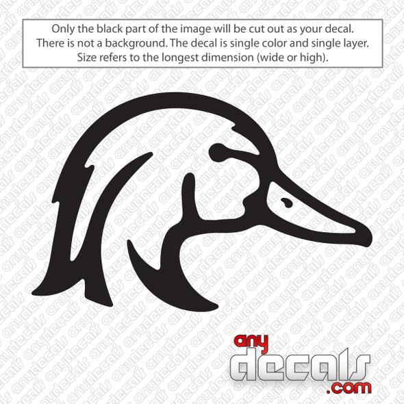Wood Duck Decal Sticker