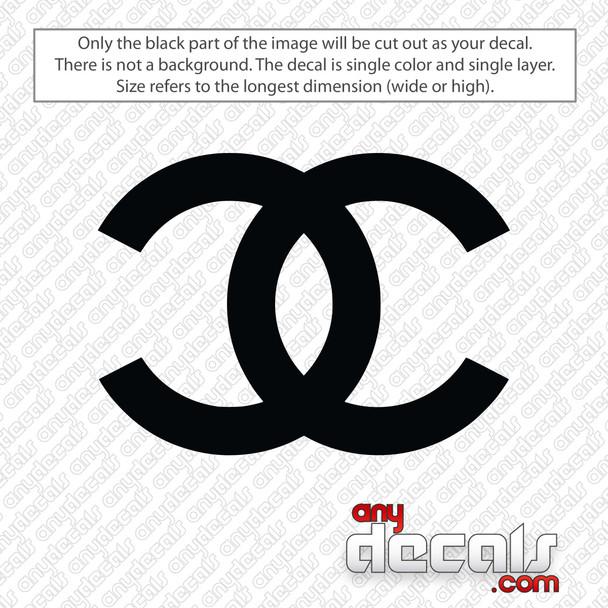 Chanel Emblem Decal Sticker