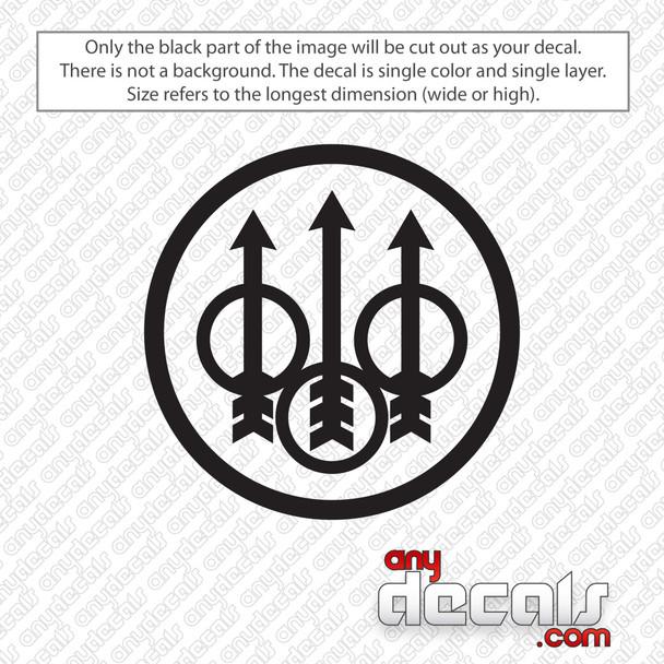 Beretta Emblem Decal Sticker