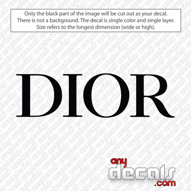 Dior Logo New Decal Sticker