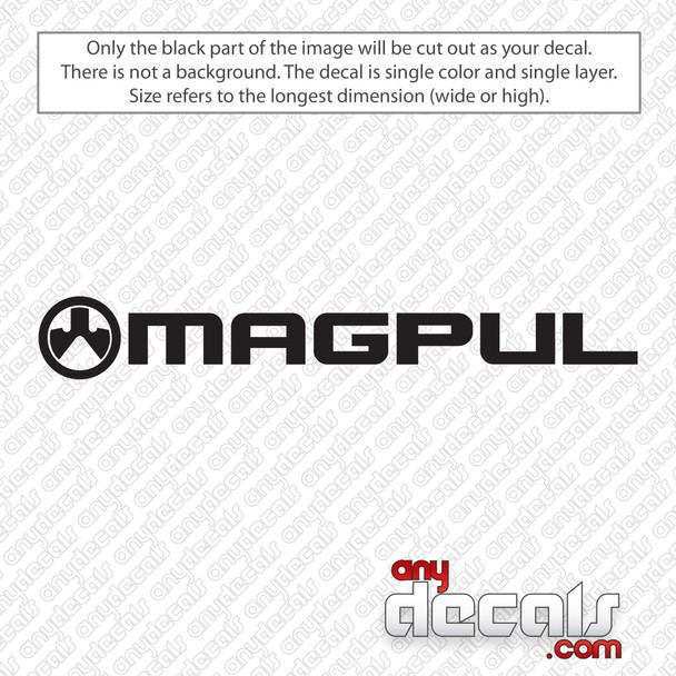 Magpul Logo Decal Sticker