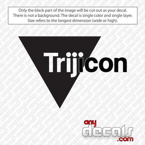 Trijicon Logo Decal Sticker