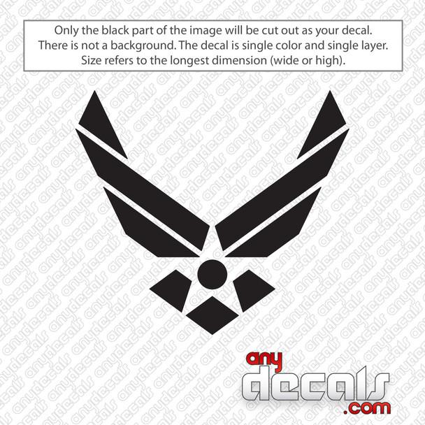 Air Force Symbol Decal Sticker