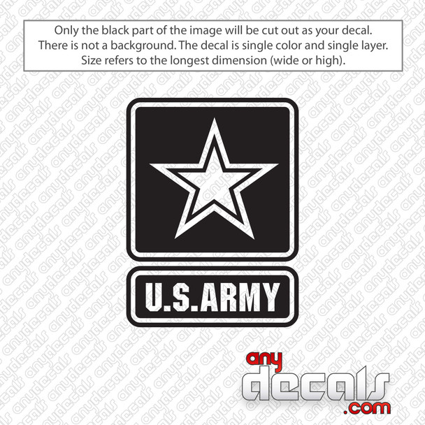 U.S. Army Logo Decal Sticker