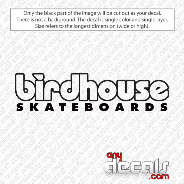 Birdhouse Skateboards Logo Decal Sticker