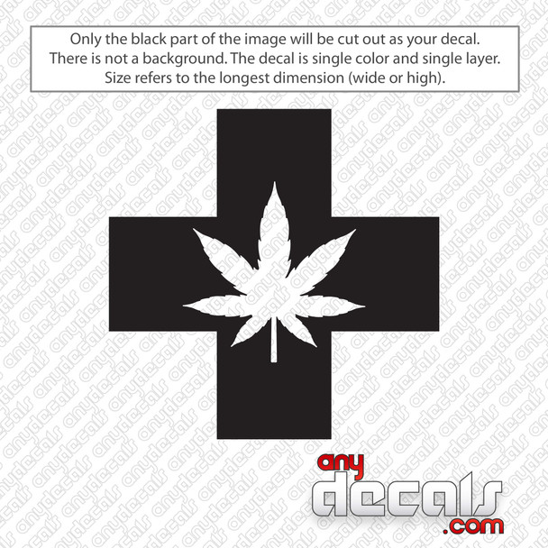 Medical Marijuana Decal Sticker