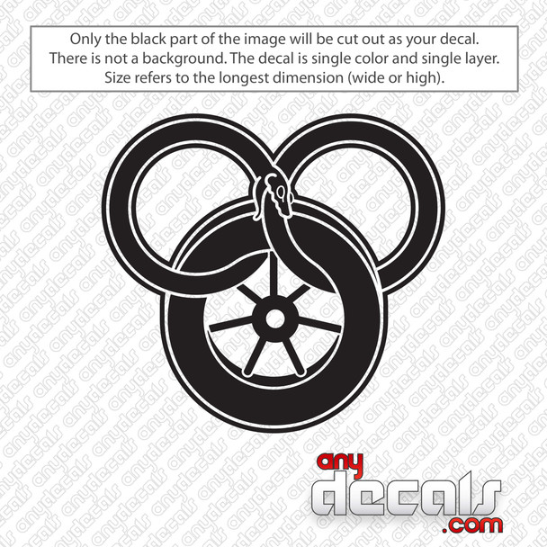 Wheel of Time Decal Sticker
