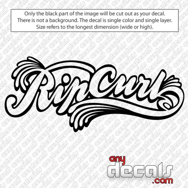 surf decals, skate decals, surf stickers, skate stickers, rip curl car decals, car decals, car stickers, decals for cars, stickers for cars