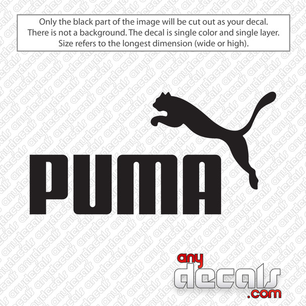 Puma Logo Decal Sticker
