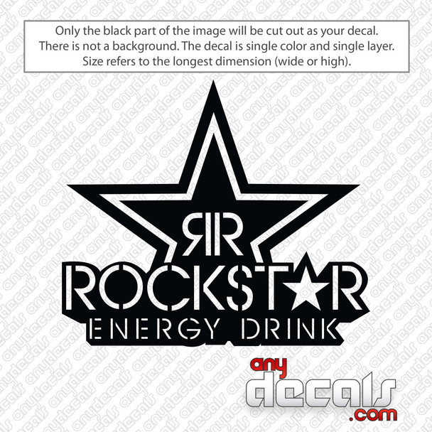 Rockstar Energy Drink Logo Decal Sticker