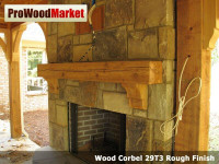 Wood Corbel 28T2 Crafted By ProWoodMarket