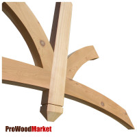Gable Bracket 43T96 Crafted By ProWoodMarket