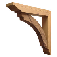 Wood Bracket 14T16 Crafted By ProWoodMarket