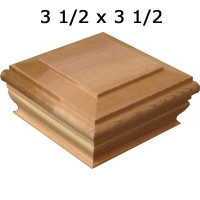 Cedar Post Cap 4x4 Crafted By Woodway Products