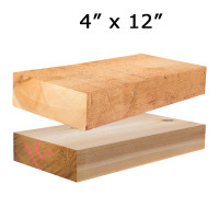 Cedar Lumber 4x12 Crafted By