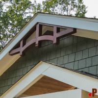 Gable Bracket 46T84 Crafted By ProWoodMarket