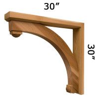 Wood Bracket 116T3 Crafted By ProWoodMarket