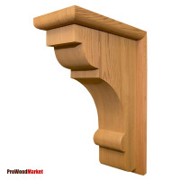 Wood Corbel 35T2 Crafted By ProWoodMarket