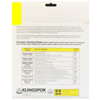 Sandpaper 9X11 Sheets Crafted By Klingspor