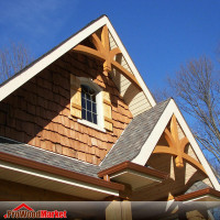 Gable Bracket 43T72 Crafted By ProWoodMarket
