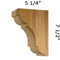 ProWoodMarket Wood Corbel 21T1