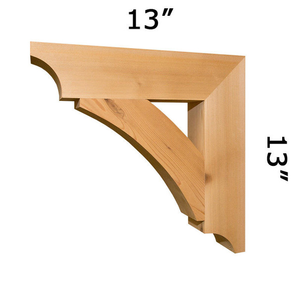 Wood Bracket 04T10 Crafted By ProWoodMarket