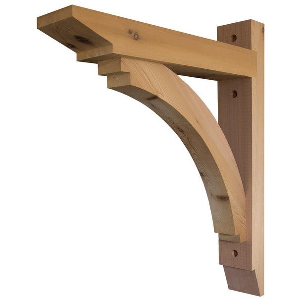 Wood Bracket 113T35 Crafted By ProWoodMarket