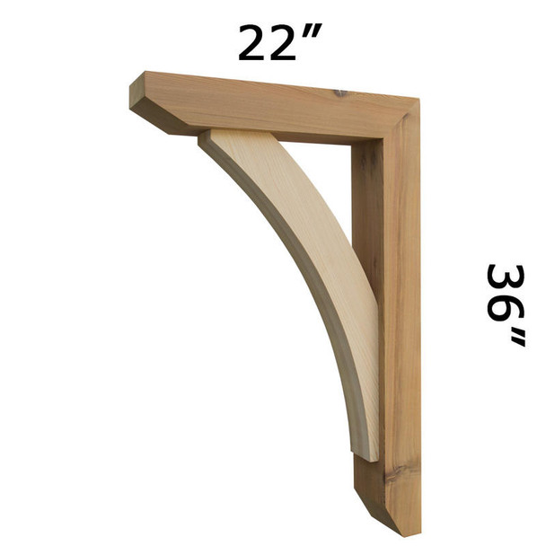 Wood Bracket 13T10 Crafted By ProWoodMarket