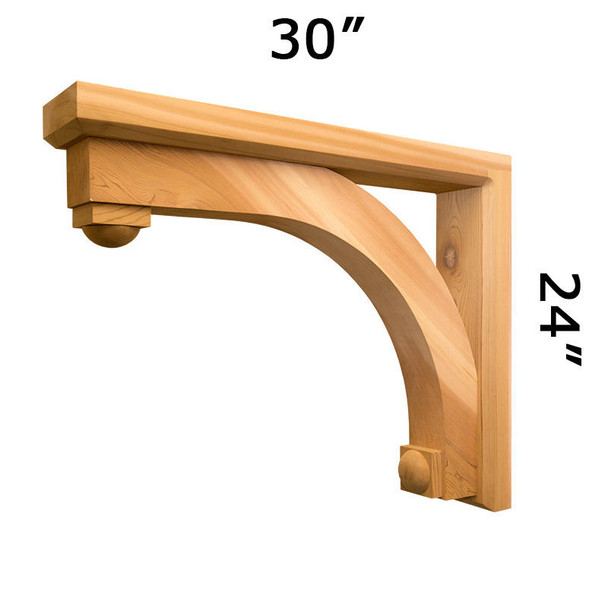 Wood Bracket 116T6 Crafted By ProWoodMarket