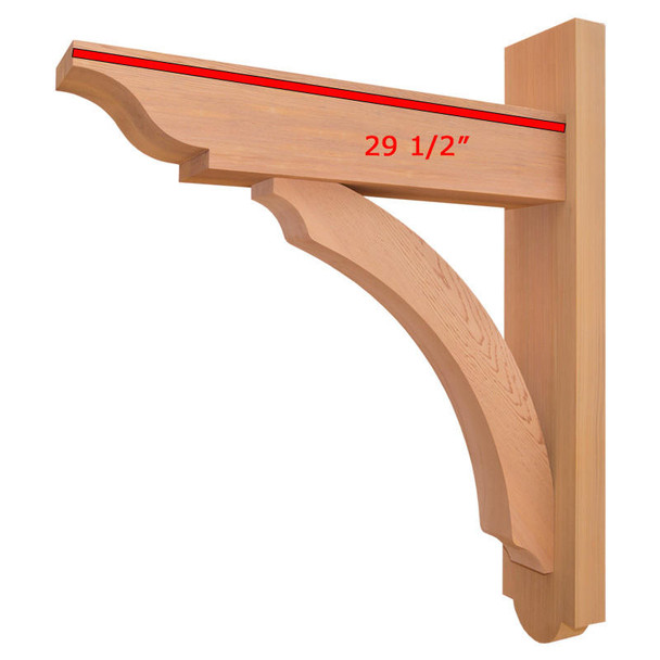 Trellis Wood Bracket 05T1 Crafted By ProWoodMarket