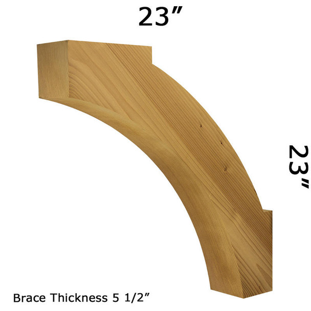 Wood Brace 71T6 Crafted By ProWoodMarket