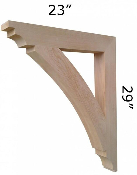 Wood Bracket 16T5 Crafted By ProWoodMarket