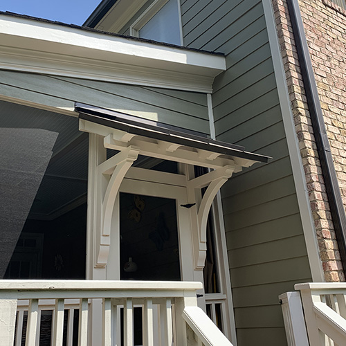 Wood Bracket - Shed Roof Support