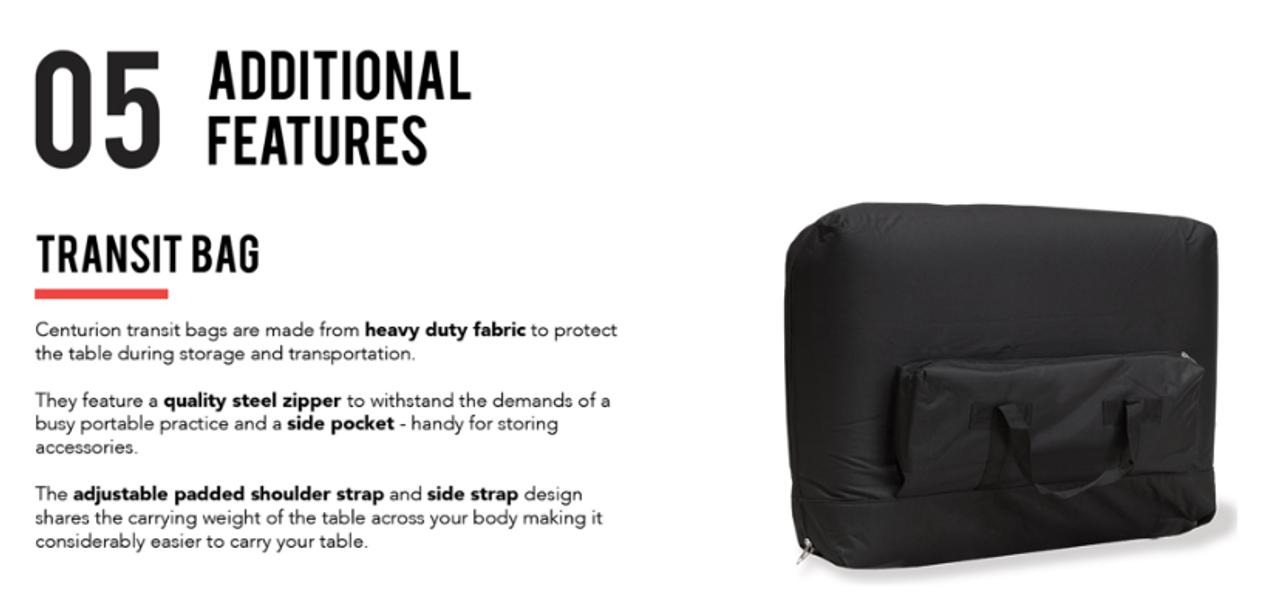 Transit carry bag - optional