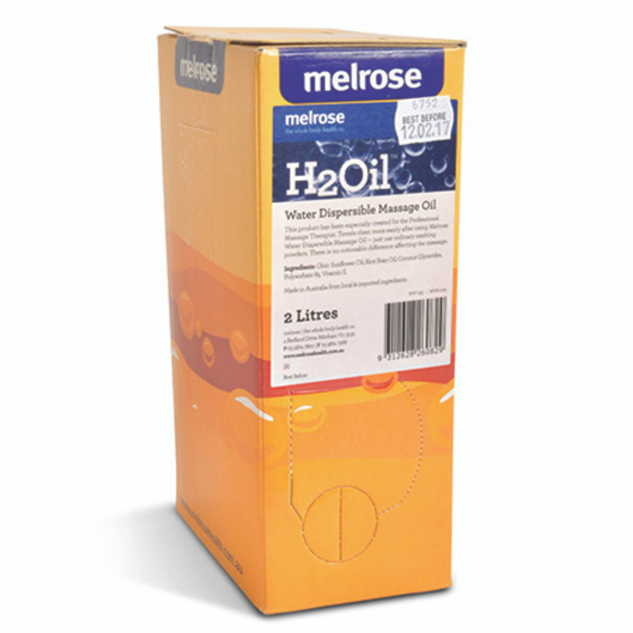 Melrose H2 Water Dispersible Oil - 2 Litre