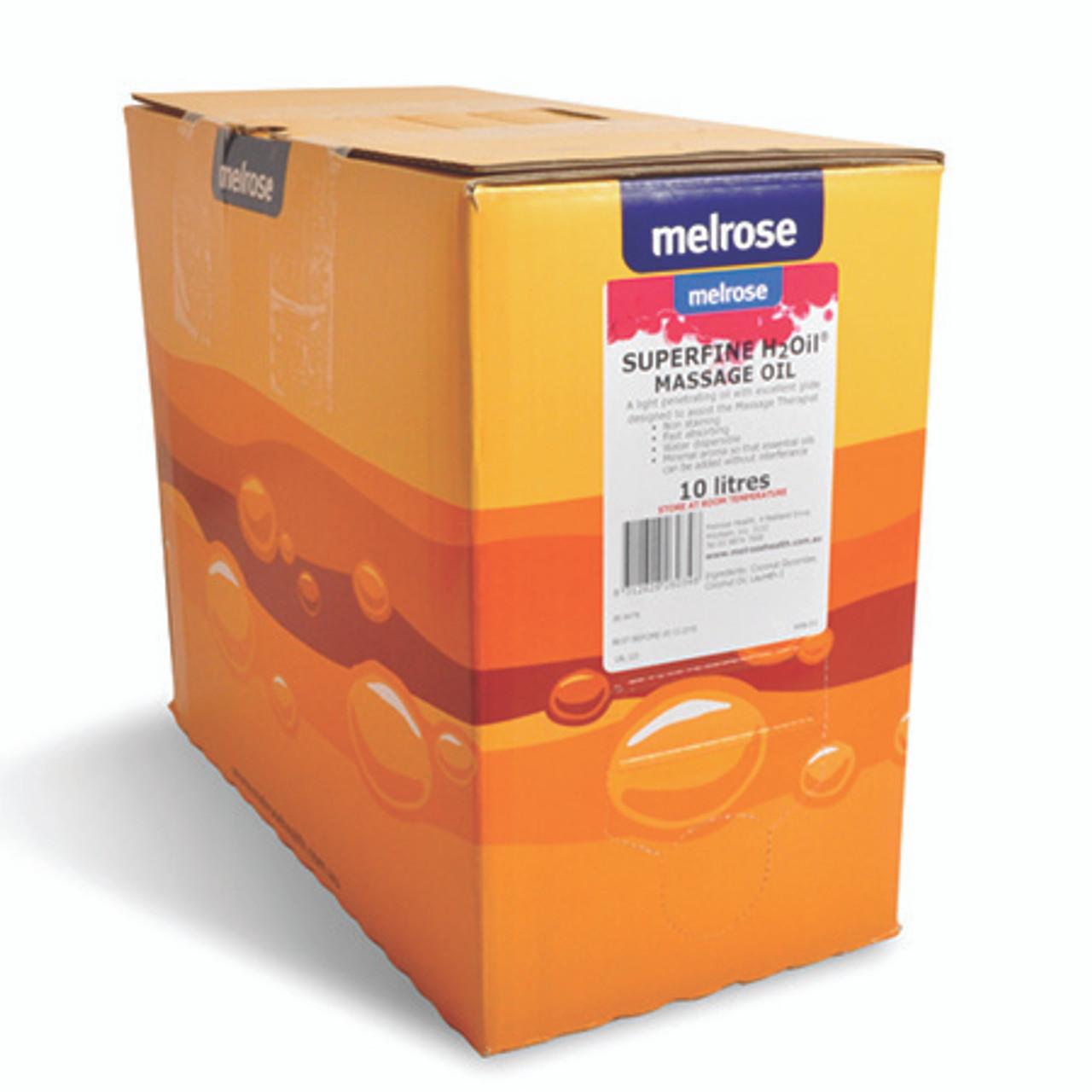 Melrose Superfine Water Dispersible Massage Oil - 10 Litre