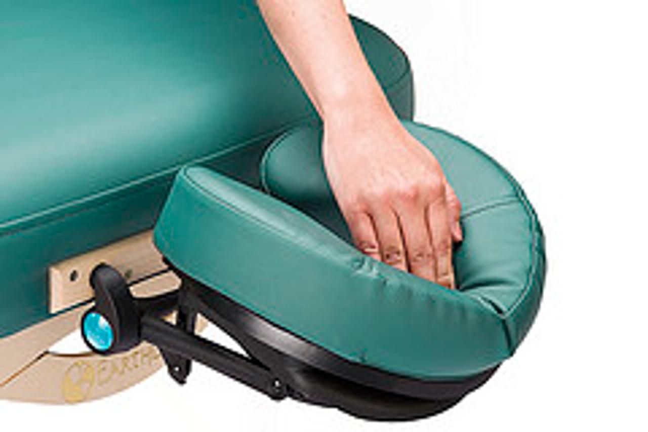 Flex rest headrest and cushion Teal