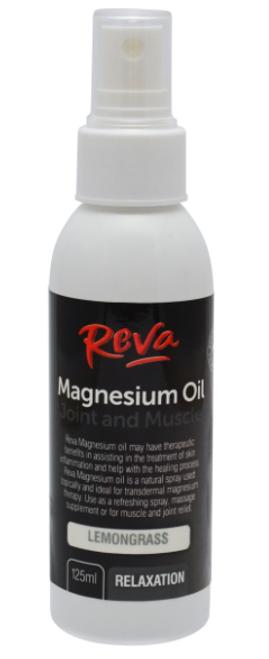 Magnesium Oil Spray with Lemongrass 125ml