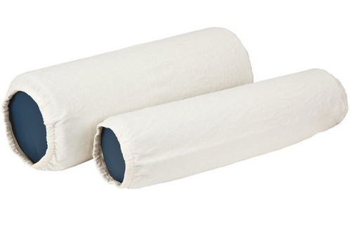 Flannel Bolster Covers - 100% Cotton