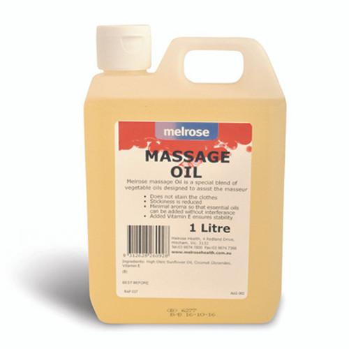 Melrose Traditional Massage Oil -1 Litre