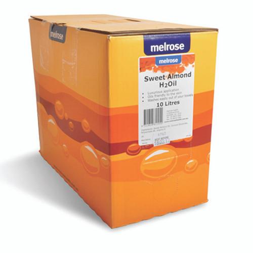 Melrose Sweet Almond Water Dispersible Massage Oil - 10 Litre