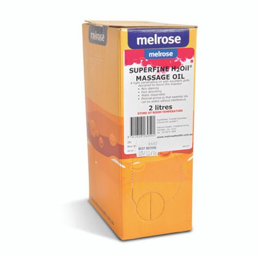 2 Litre Melrose Superfine Water Dispersible Massage Oil