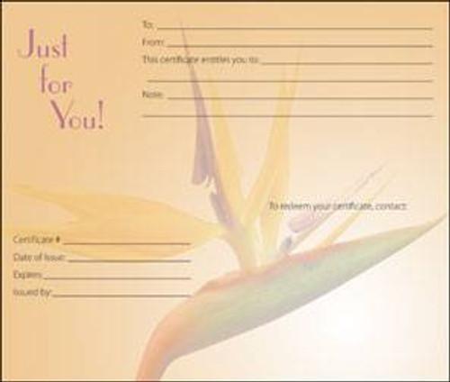 Massage Gift Card - A Little Paradise