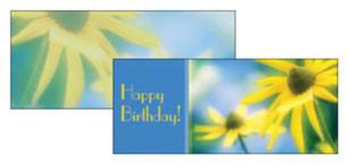 Massage Gift Card - Corn Flowers - Birthday Gift